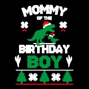 Mom of the Birthday Boy Matching T-Rex Birthday T-