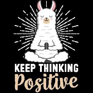 Positiv Denken Lama Yoga Karma Lamaste