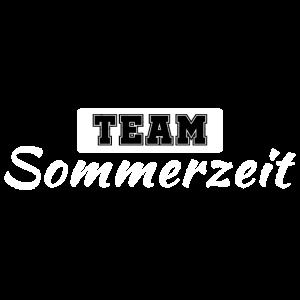Team Sommerzeit Zeitumstellung