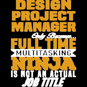 Job Tittle Design Projektmanager