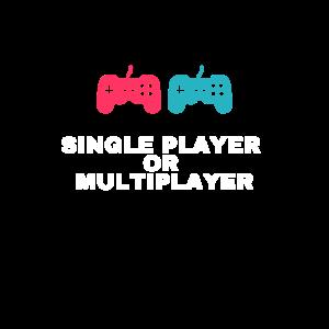 Einzelspieler oder Mehrspieler
