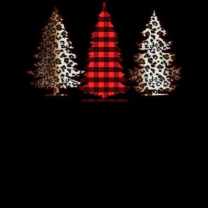 Frohe Weihnachten Bäume