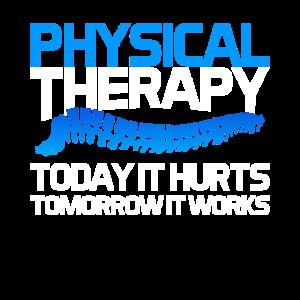 Physiotherapie Physiotherapeut Spruch Geschenk