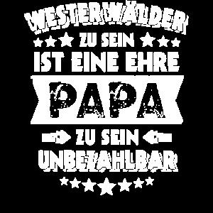 Westerwälder Papa Westerwald Geschenk Vatertag