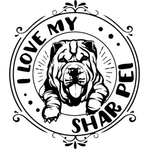 I love my Shar Pei ...