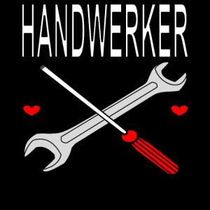 Handwerker Handwerkerin Werkzeug schrauben Bastler