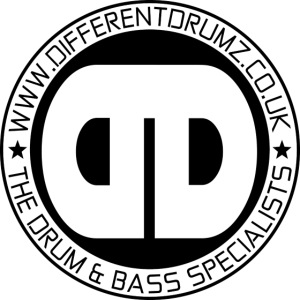 Different Drumz Logo 2020 Black V1