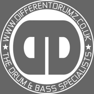 Different Drumz Logo 2020 White V1