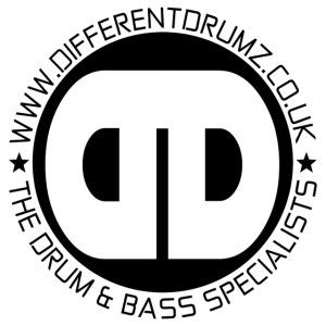 Different Drumz Logo 2020 Black V2