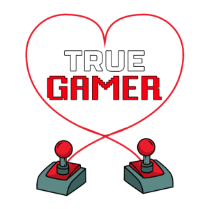 80s Retro Arcade Game True Gamer Geschenk