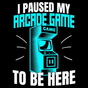 80s Arcade Gamer Retro Geschenk