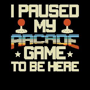 80s Arcade Game Joystick Retro Old School Geschenk