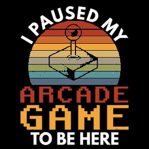 80s Arcade Game Retro Joystick Old School Geschenk