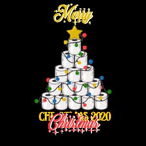 Frohe Quarantäne Weihnachten 2020 Toilettenpapier Weihnachten