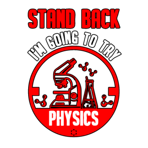 Physiker Physik Abschluss Atom Lehrer Geschenk