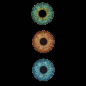 Bunte Augen Aesthetik Anatomie Blick Geschenk