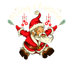 Weihnachtsmann Lebkuchen Geschenk