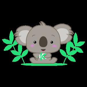 Niedlicher Koala Baby