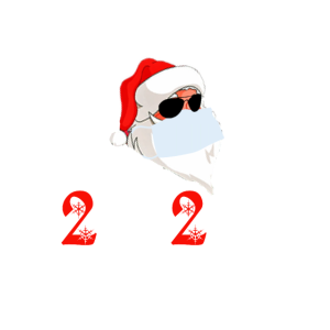 Christmas 2020 - Weihnachtsmann Maske Klopapier