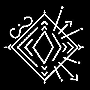 Geometrie Pfeile Quadrat Line Art