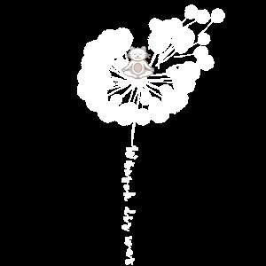 Pusteblume Löwenzahn Katze Yoga Tier Geschenk