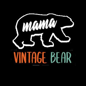 Mama Vintage Bär, Muttertagsgeschenk