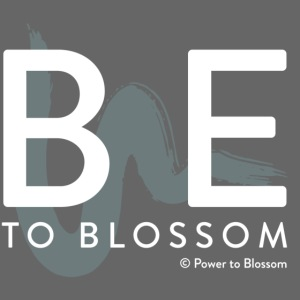 be to blossom swoosh (white)