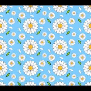 Florales Gänseblümchen Muster Geschenk für Gärtner
