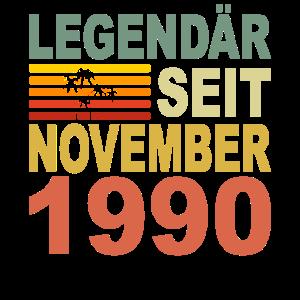 1990 Jahr Geburtstag Legendär seit November 1990