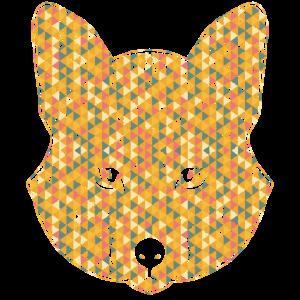 Fox Geometric Face Shirts
