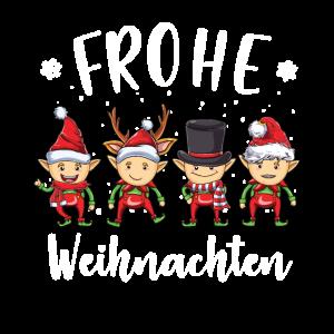 Frohe Weihnachten Elfen