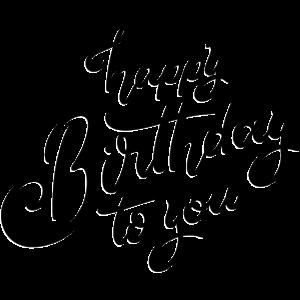Herzlichen Glückwunsch zum Geburtstag
