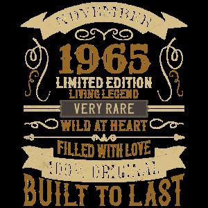 November 1965 55. Geburtstag Vintage Limited