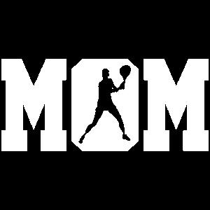 Tennis Spielerin Mutter Geschenk