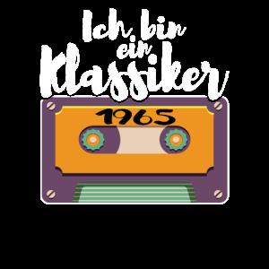 Klassiker 1965 Kassette Mixtape - 55. Geburtstag