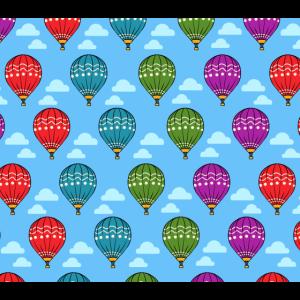 Heißluftballon Muster