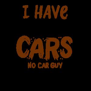CAR GUY : Too Many Cars
