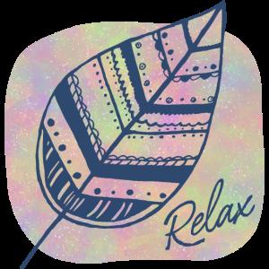 Boho Leaf Relax