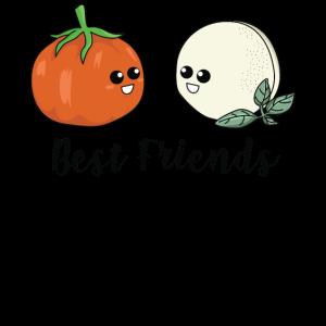 Tomate & Mozzarella für Damen, Herren als Geschenk