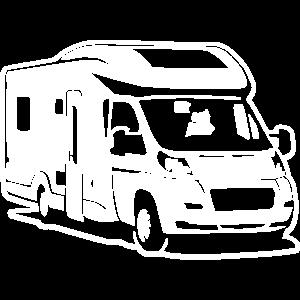 Camper Wohnmobil - Differenzbild