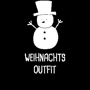Weihnachtsoutfit Schneemann Weihnachten Geschenk