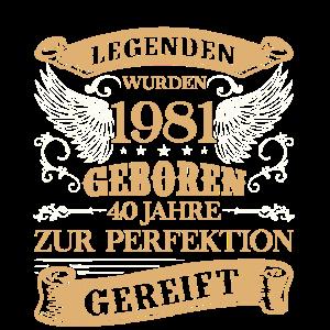 40. Geburtstag Männer 40 Zur Perfektion Gereift Ja