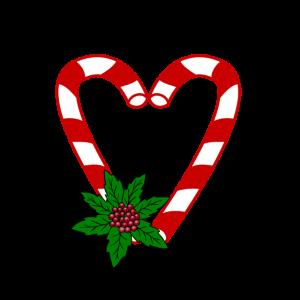 Christmas - Liebe - Love Weihnachten Zuckerstange