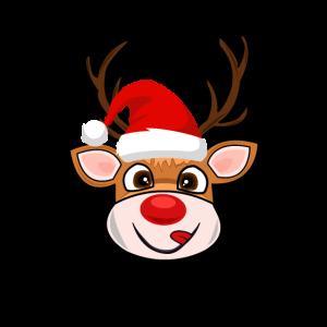 Weihnachten Christmas Geschenk Rentier Rudolph