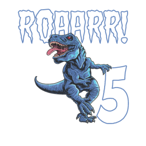 5. Geburtstag 5 Jahre Dino Saurier Dinosaurier