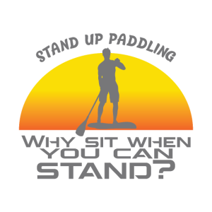 Stand up paddling love fun gift birthday christmas