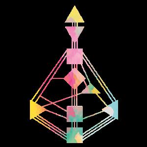 Human Design Chart Farbenfroh 2