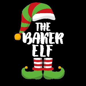 The Baker Elf - Baker Sous Chef Gift