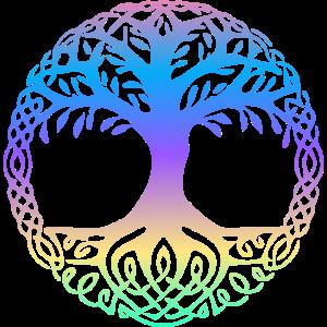 Der Baum des Lebens ist bunt
