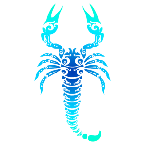 Maori Skorpion Polynesian Tribal Tattoo Geschenk